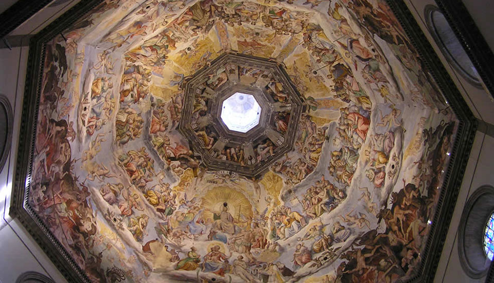 The Dome ceiling